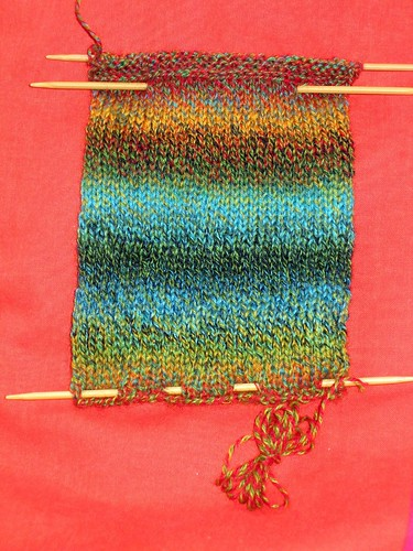 sock swatch bag