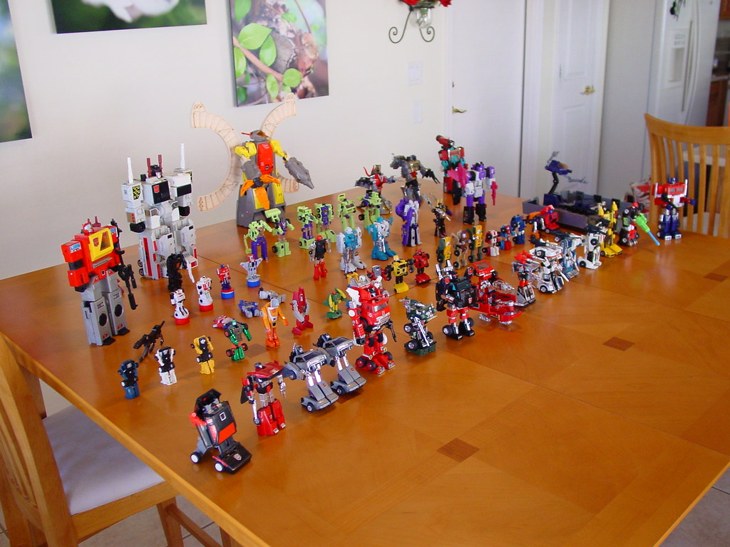 My G1 Transformers Collection