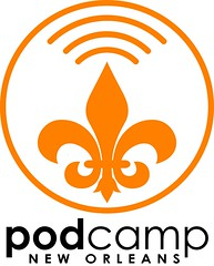 Tentative logo for PodCamp New Orleans