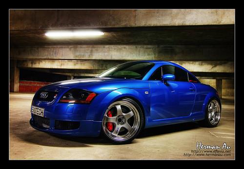 Denim Blue Audi TT Mk-I