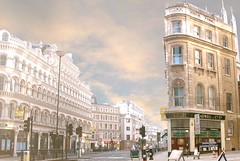 London Street (edouardv66) Tags: street color london clouds photoshop nikon theperfectphotographer thevirtualgallery photoexplore