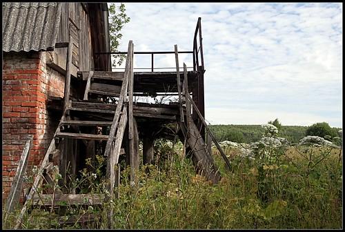 Лестница,которую я проломила