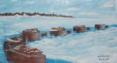 August  5th -  2007 049 (Jeannette Greaves) Tags: mural manitoba boardwalk gimli icelandicfestival