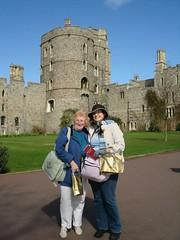 Becky & Glennys - Windsor Castle