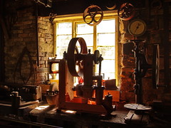 Wortley Top Forge (Roger B.) Tags: industry museum interior wheels machinery wortleytopforge