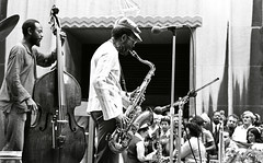 The Heath Brothers @ Rockerfeller Center (Tom Marcello) Tags: photography bass jazz saxophone jazzmusicians percyheath jimmyheath jazzplayers jazzphotos jazzphotography theheathbrothers jazzartists jazzphotographs tommarcello