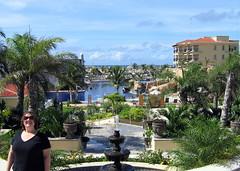 Michi and the Fountain (geog) Tags: mexico hotel resort michi elcid quintanaroo