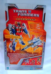 Transformers Starscream - caja (Classic Deluxe)