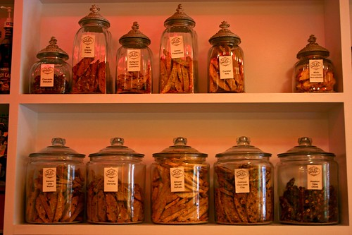 Jars of Biscotti