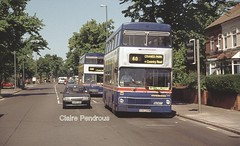 Built and operated in Brum. (Lady Wulfrun) Tags: road park west bus buses birmingham factory metro small transport engine cranes route heath oil passenger coventry a45 60 gardner midlands metrobus twm mcw rootes cammell wmt weyman wmpte