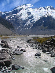 Cold as ice (Danil) Tags: blue newzealand sky mountain snow cold ice water landscape island amazing rocks view south scenic freezing glacier moraine landschap nieuwzeeland mountcook naturesfinest specnature abigfave favescontestwinner photographinglandscapes