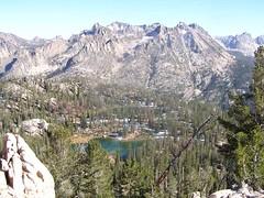 Looking East from scramble peak