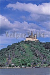 40033102 (wolfgangkaehler) Tags: river germany europe rivers fortress rhineriver 12thcentury braubach rhinerivergermany marksburgfortress