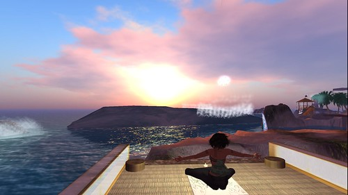 raftwet meditating on riverland ocean