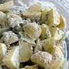potato salad with chives & celery