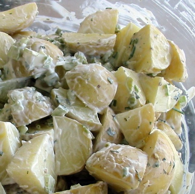 Potato Salad with Parsley & Chives