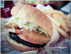 P6134033-f (Nuclear-Powered) Tags: summer food canada vancouver downtown bc britishcolumbia sandwich fries hamburger redrobin olympuspenep1 olympusmzuikodigital17mmf28