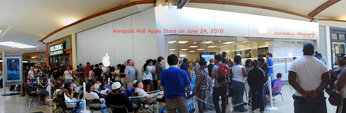 Annapolis Apple Store - June 24, 2010