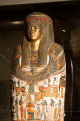 IMG_5153 (Chris Irie) Tags: egypt coffin rom royalontariomuseum cartonnage 22nddynasty djedmaatesankh