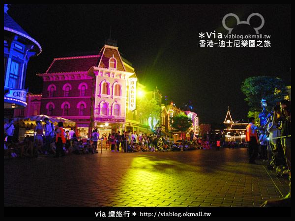 【香港旅遊】跟著via玩香港(2)~迪士尼萬聖節夜間遊行超精彩!3