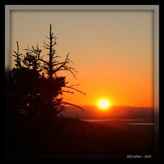 Sunset on Cadillac Mountain (bill.lepere) Tags: sunset maine cadillacmountain acadianationalpark novaphoto blepere