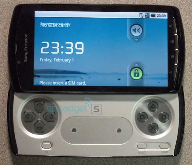 Thumb El PlayStation Phone de Sony Ericsson