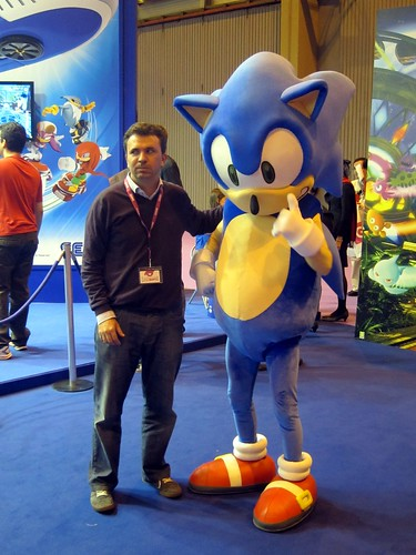 Sonic y Mr. Pink