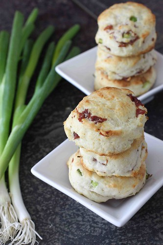 Cream Biscuits with Prosciutto & Parmesan Cheese Recipe