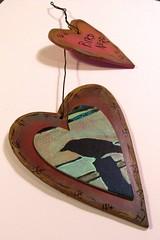 bird nerd (craftyhag) Tags: original art painting printmaking damme