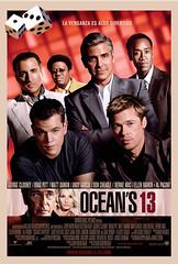 Poster Ocean's Thirteen George Clooney Matt Damon Brad Pitt