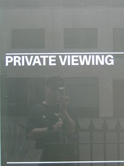 PRIVATE VIEWING (Capo2) Tags: reflection private mayfair guesswherelondon londonguessed viewing selftake haunchofvenison gwl privateviewing guessedbybravo99