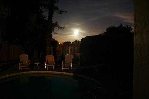 the moon (not the sun)