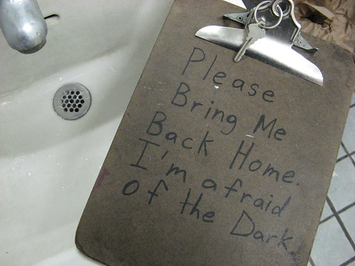 Bathroom Key Afraid of the Dark
