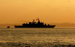 Turkish Navy patrol on the Sea of Marmara, Istanbul, Turkey, July, 2006 (Ivan S. Abrams) Tags: coastguard docks turkey boats mediterranean ataturk canon20d ships istanbul lighters nautical shipping tugs straits ports blacksea gallipoli ferries harbors watercraft bosphorus tugboats vessels freighters tankers harbours cruiseships barges smrgsbord warships bogaz destroyers ferryboats navyships speedboats frigates internationaltrade classicboats seaofmarmara navies containerships portcities oceanliners navalvessels bulkcarriers chokepoints onlythebestare boatnerd turkishnavy ivansabrams trainplanepro internationalshipping sealanes ivanabrams tucson3985 worldwideshipspotters servicecraft oceancommerce boxcarriers feriobots coastalfreighters marinecommerce internationalcommerce maritimecommerce seaportsseaportmaritime crossroadsasiaeuropebosforbogazasia minorboxesintermodal tugobats copyrightivansafyanabrams2009allrightsreservedunauthorizeduseprohibitedbylawpropertyofivansafyanabrams unauthorizeduseconstitutestheft thisphotographwasmadebyivansafyanabramswhoretainsallrightstheretoc2009ivansafyanabrams abramsandmcdanielinternationallawandeconomicdiplomacy ivansabramsarizonaattorney ivansabramsbauniversityofpittsburghjduniversityofpittsburghllmuniversityofarizonainternationallawyer