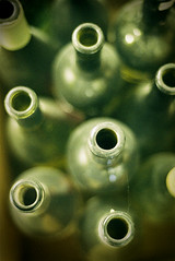 Dusty Old Wine Bottles (photodaug) Tags: old verde green dusty wine bottles top spiderweb opening garrafa greenbottle vinho winebottles teia oldwinebottles dustywinebottle