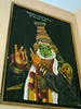 """Kathakali (classical Kerala dance actor) painting • <a style=""""font-size:0.8em;"""" href=""""http://www.flickr.com/photos/9310661@N04/857466684/"""" target=""""_blank"""">View on Flickr</a>"""