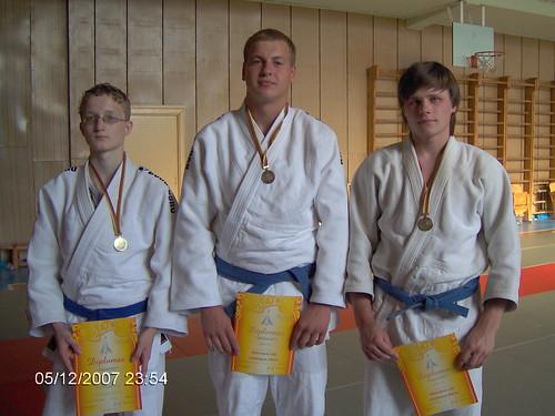 Iš kairės A.Tipšas, Z.Pečiulis ir I.Gudas