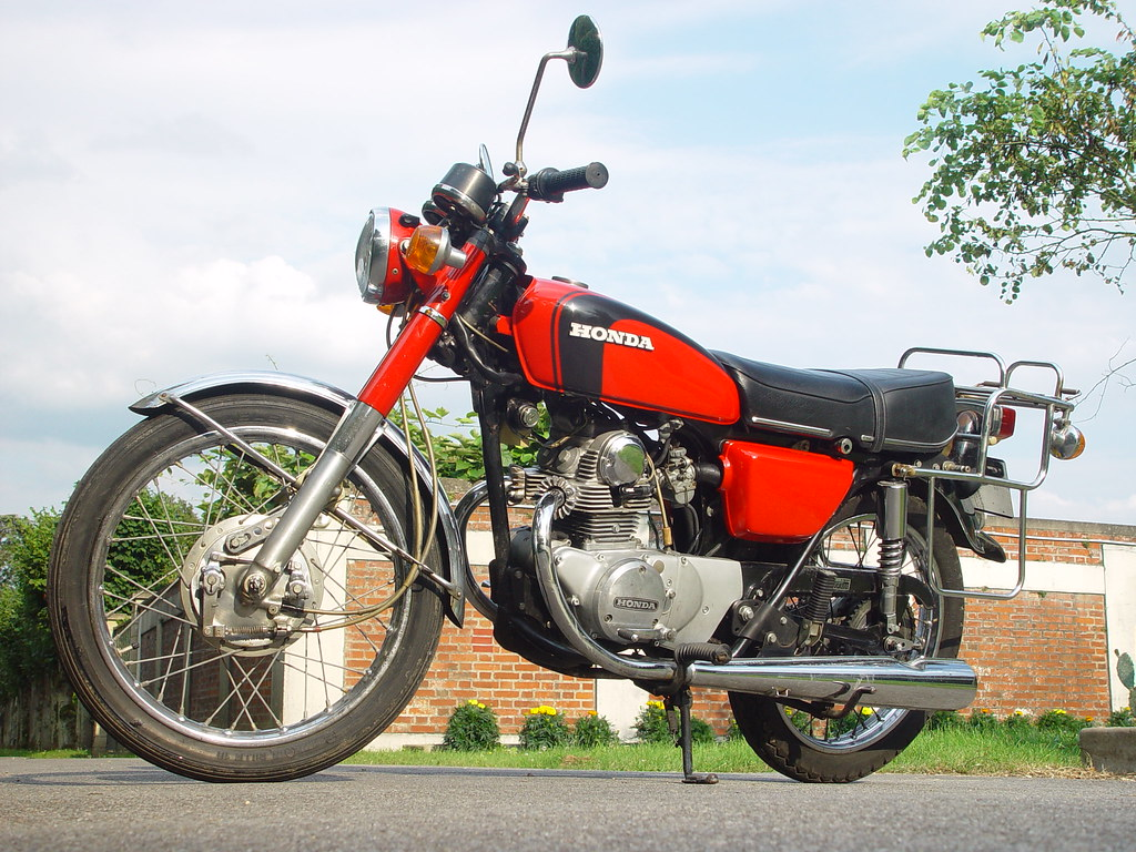 The Worlds Best Photos Of Cb And Cb125 Flickr Hive Mind Wiring Diagram 125 K5 Honda Andrepatrick Tags Vintage Japanese Moto