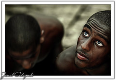 Pearles Hunters (Jamal Alayoubi) Tags: old portrait men eye dark hope boat interestingness nikon friend shots arab hunter pearl diver 28 kuwait d200 nikkor 70200 jamal outstanding explorepage outstandingshots aplusphoto goldenphotographer alayoubi