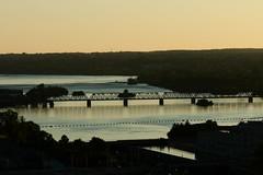 Spanning at Sunset. (arun.smith) Tags: bridge ottawa ottawariver