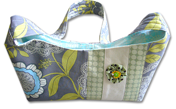 bag with Amy Butler's fabric