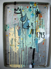 all eyes (senyol) Tags: world painting studio design mixed media war apartment furniture installation tray warren won godfrey 2007 senyol