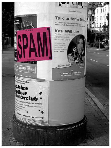 spam, spam & spam.