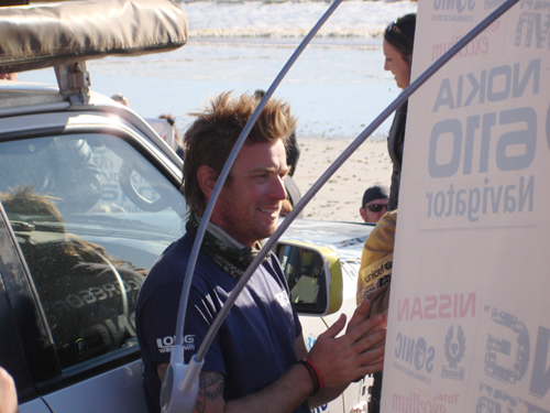 Ewan McGregor, Milnerton, Cape Town: 4 August 2007