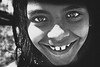 Keep smiling... (carf) Tags: girls brazil bw girl smile smiling brasil kids reflections children happy hope blackwhite kid eyes community education support child risk forsakenpeople esperança social altruism change shanty educational hummingbirds favela development prevention atrisk changemakers mundouno everyoneachangemaker sítiojoaninha