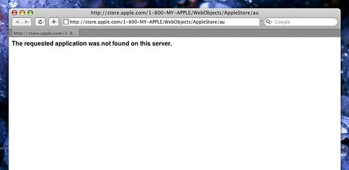 Apple Store Error