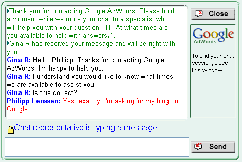 AdWords-Chat