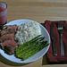 41/365 - Rare Lamb with Asparagus & Rice
