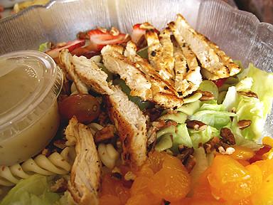 Belle's American Grille Chicken Pecan Salad