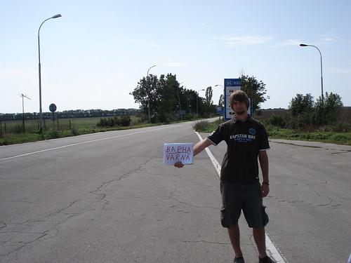 Versuch nach Varna zu trampen